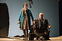 English Touring Theatre's production of THE SIEGE OF CALAIS by Donizetti, opens at Hackney Empire, prior to touring. Picture shows: Paula Sides (Eleonora) and Eddie Wade (Eustachio, Mayor of Calais).