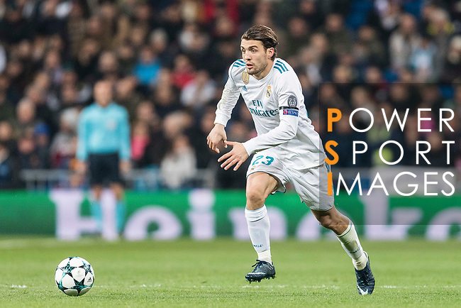 Mateo Kovacic of Real Madrid in action during the Europe Champions League 2017-18 match between Real Madrid and Borussia Dortmund at Santiago Bernabeu Stadium on 06 December 2017 in Madrid Spain. Photo by Diego Gonzalez / Power Sport Images