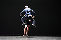 London, UK. 10.02.2015. Ultima Vez/ Wim Vandeykeybus presents WHAT THE BODY DOES NOT REMEMBER at Sadler's Wells. The company is: The company: German Jauregui Allue, Jorge Jauregui Allue, Livia Balazova, Maria Kolegova, Pavel Masek, Zebastian Mendez Marin, Eddie Oroyan, Aymara Parola, Reve Terborg. Photograph © Jane Hobson.