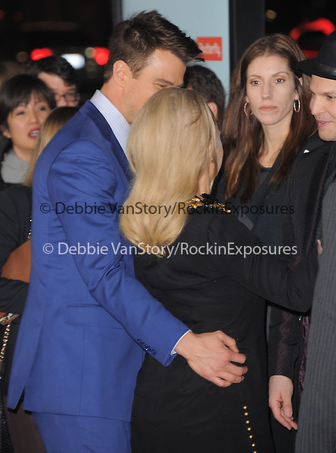 Josh Duhamel and Stacy Ferguson aka Fergie at The Relativity Media US Premiere of Safe Haven held at The Grauman's Chinese Theater in Hollywood, California on February 05,2013                                                                   Copyright 2013 Hollywood Press Agency