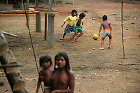 Indigenous soccer in Colombia
