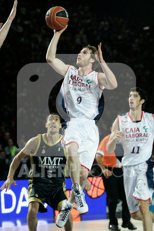 Caja Laboral's Marcelinho Huertas during Spanish Basketball King's Cup match.(ALTERPHOTOS/Acero)