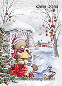 Roger, CHRISTMAS ANIMALS, WEIHNACHTEN TIERE, NAVIDAD ANIMALES, paintings+++++,GBRM2184,#xa#