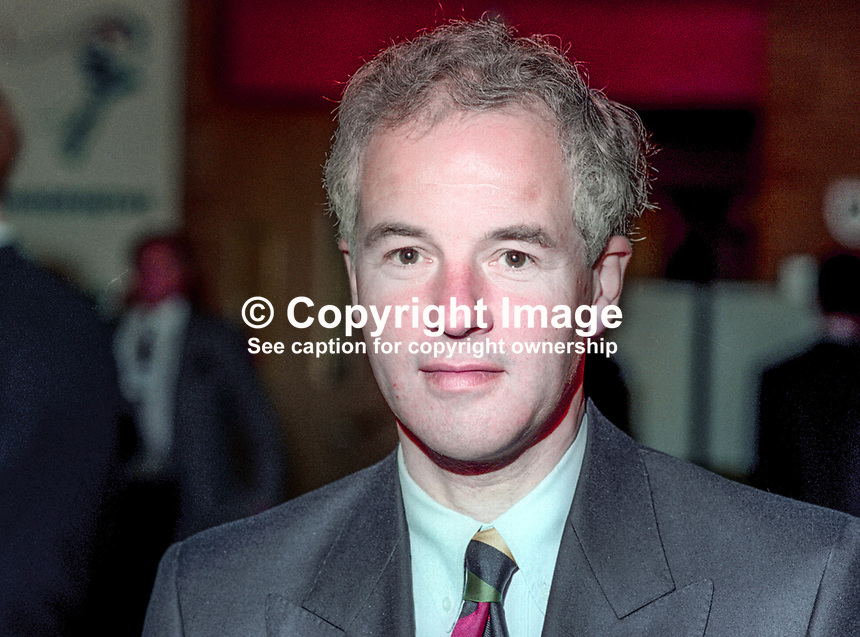 Michael Jack, MP, Conservative Party, UK, October, 1994, 1994104891<br /> <br /> Copyright Image from Victor Patterson, 54 Dorchester Park, <br /> Belfast, UK, BT9 6RJ<br /> <br /> t1: +44 28 9066 1296 (from Rep of Ireland 048 9066 1296)<br /> t2: +44 28 9002 2446 (from Rep of Ireland 048 9002 2446)<br /> m: +44 7802 353836<br /> <br /> victorpatterson@me.com<br /> www.victorpatterson.com<br /> <br /> Please see my Terms and Conditions of Use at VICTORPATTERSON.COM. It is IMPORTANT that you familiarise yourself with them.<br /> <br /> Images used on the Internet must be visibly watermarked i.e. &copy;VICTORPATTERSON.COM within the body of the image and copyright metadata must not be deleted. Images used on the Internet have a size restriction of 4kbs and are chargeable at the then current NUJ rates.<br /> <br /> This image is only available for the use of the download recipient i.e. television station, newspaper, magazine, book publisher, etc, and must not be passed on to any third party. It is also downloaded on condition that each and every usage is notified within 7 days to victorpatterson@me.com<br /> <br /> The right of Victor Patterson to be identified as the author is asserted in accordance with The Copyright Designs And Patents Act (1988).