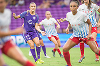 Orlando, FL - Saturday July 01, 2017: Rachel Hill during a regular season National Women's Soccer League (NWSL) match between the Orlando Pride and the Chicago Red Stars at Orlando City Stadium.