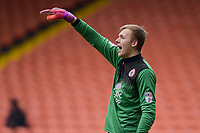 Accrington Stanley's Marek Rodak<br /> <br /> Photographer Terry Donnelly/CameraSport<br /> <br /> The EFL Sky Bet League Two - Blackpool v Accrington Stanley - Friday 14th April 2017 - Bloomfield Road - Blackpool<br /> <br /> World Copyright &copy; 2017 CameraSport. All rights reserved. 43 Linden Ave. Countesthorpe. Leicester. England. LE8 5PG - Tel: +44 (0) 116 277 4147 - admin@camerasport.com - www.camerasport.com