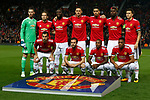 The Manchester United team group before the Champions League Group A match at the Old Trafford Stadium, Manchester. Picture date: September 12th 2017. Picture credit should read: Andrew Yates/Sportimage
