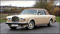 BNPS.co.uk (01202 558833)<br /> Pic: H&amp;H/BNPS<br /> <br /> Rolls Royce Corniche with only 11,000 miles on the clock  - &pound;50,000.<br /> <br /> The &pound;1,000,000 garage sale... a stunning collection of luxury cars seized from the personal collection of a Middle Eastern sheikh has emerged. <br /> <br /> The impressive fleet, comprising Ferrari, Rolls-Royce and Bentley motors, has arrived at auction following a high court ruling against their former owner.<br /> <br /> Due to their unusual history many of the cars, all of which were UK based and have unusually low mileages, are being offered at a bargain price.
