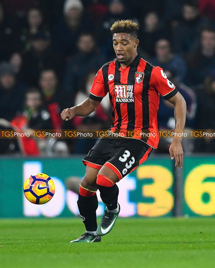 Jordan Ibe of AFC Bournemouth during AFC Bournemouth vs Manchester City, Premier League Football at the Vitality Stadium on 13th February 2017