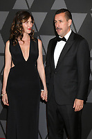 HOLLYWOOD, CA - NOVEMBER 11: Jackie Sandler, Adam Sandler at the AMPAS 9th Annual Governors Awards at the Dolby Ballroom in Hollywood, California on November 11, 2017. <br /> CAP/MPI/DE<br /> &copy;DE/MPI/Capital Pictures