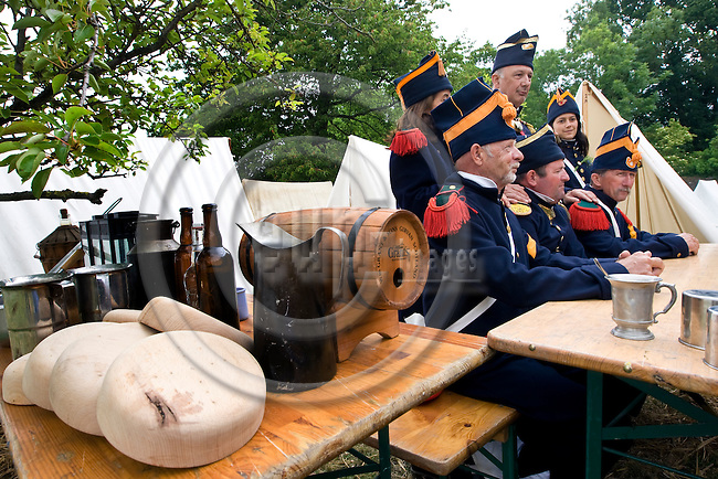 WATERLOO - BELGIUM - 19 June 2015 -- The 200 year celebration and reenactment of the battle of Waterloo and the defeat of Napoleon Bonaparte. -- PHOTO: Juha ROININEN / EUP-IMAGES