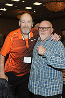 LAS VEGAS, NV - MAY 01: Alexis Smirnoff and Kevin Sullivan at the 53rd Cauliflower Alley Club Reunion Convention at the Gold Coast Hotel & Casino in Las Vegas, Nevada on May 1, 2018. Credit: George Napolitano/MediaPunch