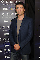 BEVERLY HILLS, CA - AUGUST 3: Rainer Gombos arrives at the Fox And National Geographic Channel Presents A Screening Of 'Cosmos: A Spacetime Odyssey' at The Paley Center for Media on August 3, 2014 in Beverly Hills, California. PGFM/Starlitepics