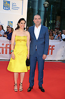 DIRECTOR HANY ABU-ASSAD AND HIS WIFE - RED CARPET OF THE FILM 'THE MOUNTAIN BETWEEN US' - 42ND TORONTO INTERNATIONAL FILM FESTIVAL 2017 . TORONTO, CANADA, 10/09/2017. # FESTIVAL DU FILM DE TORONTO - RED CARPET 'THE MOUNTAIN BETWEEN US'