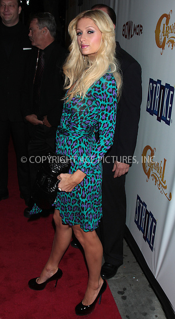 WWW.ACEPIXS.COM . . . . .  ....October 8 2009, New York City....Paris Hilton arriving at the opening of Carnival at Bowlmor Lanes on October 8, 2009 in New York City. ....Please byline: AJ Sokalner - ACEPIXS.COM..... *** ***..Ace Pictures, Inc:  ..tel: (212) 243 8787..e-mail: info@acepixs.com..web: http://www.acepixs.com
