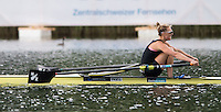 Lucerne, SWITZERLAND<br /> <br /> NZL W1X, Winner Emma TWIGG, 2016 European Olympic Qualifying Regatta, Lake Rotsee.<br /> <br /> Tuesday  24/05/2016<br /> <br /> [Mandatory Credit; Peter SPURRIER/Intersport-images]