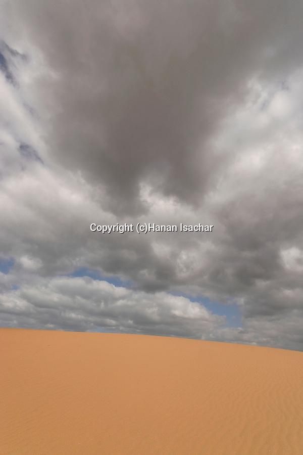 Israel, Southern Coastal Plain. Ashdod Sand Dune Park
