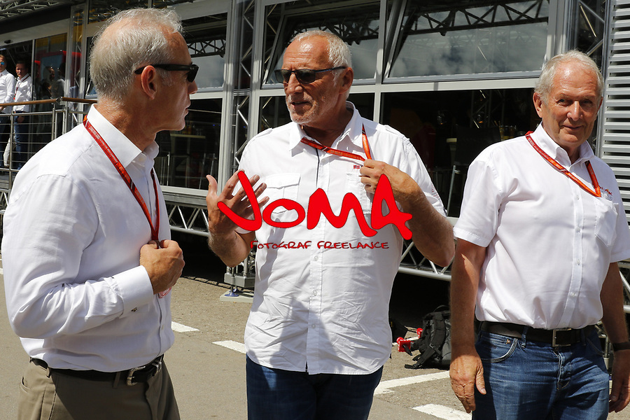 Dietrich Mateschitz (AUT) CEO and Founder of Red Bull at  Formula 1, Spanish Grand Prix, Barcelona.