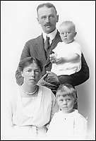 BNPS.co.uk (01202 558833)Pic: PrivateCollection/BNPS<br /> <br /> Grand Duchess Olga Alexandrovna of Russia with  her family.<br /> <br /> A Russian Grand Duke branded King George V a 'scoundrel' who 'did not lift a finger' to save the Romanov family in the revolution there of 1917, explosive diaries have revealed.<br /> <br /> The cousin of the overthrown Russian Royal family blamed the British King for their executions because he failed to grant them refuge.<br />  <br /> Dmitri Pavlovich no-holds-barred diary extracts have been published for the first time in a new book by respected historian Coryne Hall, To Free The Romanovs.