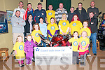 Bee for Battens Presentation: The proceeds from the David Flynn  Memorial  Poker Run held on the 4th September around the North Kerry which amounted to EUR14,188.51, being presented at the Kingdom Bar, Listowel on Tuesday evening last..Front :Anna Flynn, Leone Flynn, Katelyn Flynn, Haylley Flynn and Eva Flynn..Middle : Brendan McGinley, Sandra Lynch ,Lisa O'Connor, Mary Flynn, Mary Lynch, Pamela Mulvihill &John Hoilihan.. Back : Keith Goggin, Pat Flynn, John O'Sullivan, John Flynn, Aidan Flynn, Patsy Flynn,John O'Connor & Shane Egan