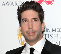 David Schwimmer at the Virgin Media BAFTA Television Awards 2019 - Press Room at The Royal Festival Hall, London on May 12th 2019<br /> CAP/ROS<br /> ©ROS/Capital Pictures
