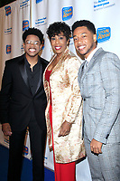 LOS ANGELES - DEC 5: Nathan Davis Jr, Dawnn Lewis, Jacob Latimore at The Actors Fund's Looking Ahead Awards at the Taglyan Complex on December 5, 2017 in Los Angeles, California