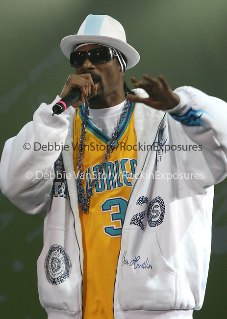 Snoop Dogg live at The KIIS Fm Wango Tango 2008 held at The Verizon Wireless Ampitheatre in Irvine, California on May 10,2008                                                                                      Copyright 2008 Debbie VanStory / iPhoto