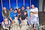SHEARING: Shearing some of the sheep at the Camp Shearing championships at the camp Shearing and Dog Trials on Sunday in aid of the Kerry Hospice Foundation, Tom O'Donnell and Tom Griffin, Bridget O'Connor, Michael Knox, Moss Trant, John Kennedy, Padraig Cronin, Jack Crean and Billy Codd (Camp),...........