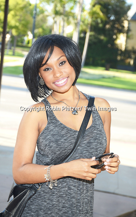 Angell Conwell of The Young and The Restless  attends the Gifting Suitefor the Daytime Emmy Awards by Off The Wall Productions on June 15, 20103 at the Beverly Hills Hotel in Beverly Hills, California.