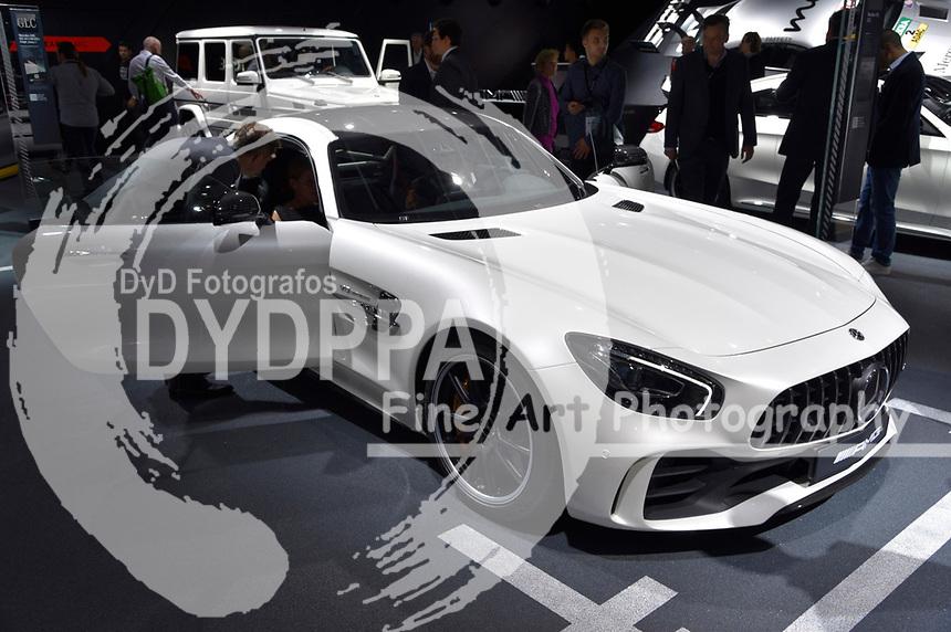 Mercedes-AMG GT R auf der Internationalen Automobil-Ausstellung 2017 auf dem Messegelände. Frankfurt am Main, 12.09.2017