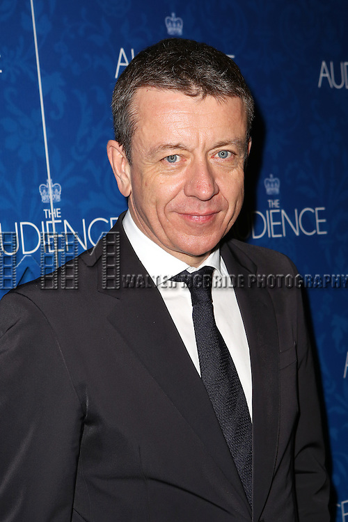 Peter Morgan attends the opening night after party for the Broadway Opening of 'The Audience' at Urbo NYC on March 8, 2015 in New York City.