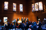 St Johnstone FC Scottish Cup Celebration Dinner at Perth Concert Hall...01.02.15<br /> Gordon Bannerman talks with Brian Easton<br /> Picture by Graeme Hart.<br /> Copyright Perthshire Picture Agency<br /> Tel: 01738 623350  Mobile: 07990 594431
