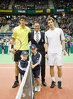 14-2-09,Rotterdam,ABNAMROWTT, Mario Ancic & Andy Murray - playersescort