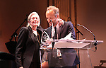 Vanessa Redgrave & John Benjamin Hickey attending the American Theatre Wing's annual gala at the Plaza Hotel on Monday Sept. 24, 2012 in New York.