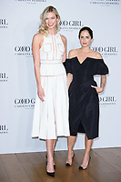 Karlie Kloss &amp; Carolina Herrera at the launch party for Carolina Herrera's &quot;Good Girl&quot; fragrance, London, UK. <br /> 25 January  2018<br /> Picture: Steve Vas/Featureflash/SilverHub 0208 004 5359 sales@silverhubmedia.com