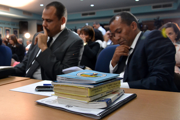 Juicio disciplinario dentro del PRD, contra el ex-presidente Hipólito Mejia..Foto: Ariel Díaz-Alejo/acento.com.do.Fecha: 14/01/2012.