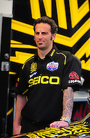 17-19 February 2012, Chandler, Arizona, USA, Aaron Brooks, Geico Powersports, Lucas Oil, top fuel dragster @2012, Mark J. Rebilas