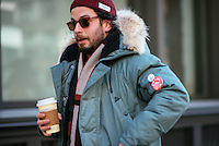 Josh Peskowitz attends Day 4 of New York Fashion Week on Feb 15, 2015 (Photo by Hunter Abrams/Guest of a Guest)