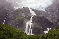 Cataract Glacier, Harriman Fiord, Harriman Fiord, Prince William Sound, Chugach National Forest, Alaska.