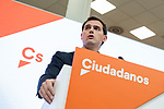 The president of the Ciudadanos party, Albert Rivera resigns after the bad results in yesterday's elections and announces his departure from politics<br /> November  11, 2019. <br /> (ALTERPHOTOS/ David Jar)