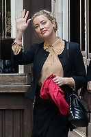 London, UK - 22 July 2020<br /> Amber Heard attends libel trial against the Sun at The Royal Courts of Justice.<br /> CAP/JOR<br /> ©JOR/Capital Pictures