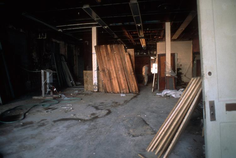 2002 February 06..Rehabilitation..Attucks Theatre.Church Street..PROGRESS PHOTOS.INTERIOR...NEG#.NRHA#..