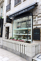 Views of Iconic London, Hotels, Fashion and Restaurants. October 8th 2018<br /> Pictured - Tateossian<br /> CAP/ROS<br /> &copy;ROS/Capital Pictures