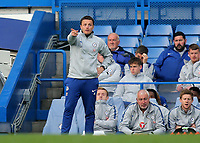 Chelsea Development Squad Manager, Joe Edwards during Chelsea Under-23 vs Arsenal Under-23, Premier League 2 Football at Stamford Bridge on 15th April 2019