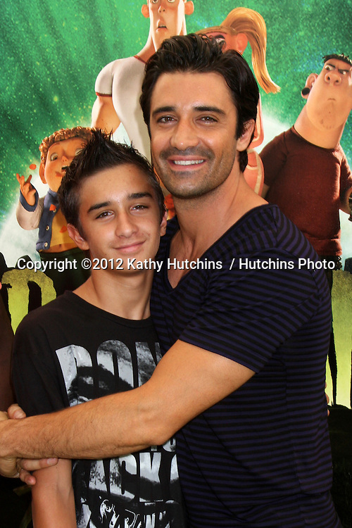 "LOS ANGELES - AUG 5:  Gilles Marini arrives at the ""ParaNorman"" Premiere at Universal CityWalk on August 5, 2012 in Universal City, CA"