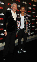 NEW YORK, NY-August 11: Baz Luhrmann, Jaden Smith at NETFLIX presents the New York premiere of The Get Down at Lehman Center for the Performing Arts in Bronx .NY. August 11, 2016. Credit:RW/MediaPunch