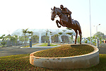 General view, <br /> AUGUST 20, 2018 - Equestrian : <br /> Dressage Team <br /> at Jakarta International Equestrian Park <br /> during the 2018 Jakarta Palembang Asian Games <br /> in Jakarta, Indonesia. <br /> (Photo by Naoki Nishimura/AFLO SPORT)