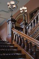 Stairway in the California State Capital, Sacramento, California