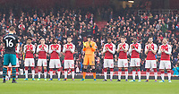 Ray Wilkins minute of applause during the EPL - Premier League match between Arsenal and Southampton at the Emirates Stadium, London, England on 8 April 2018. Photo by Andrew Aleksiejczuk / PRiME Media Images.