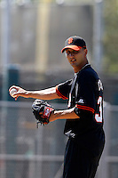 Hector Correa -San Francisco Giants 2009 Instructional League. .Photo by:  Bill Mitchell/Four Seam Images..